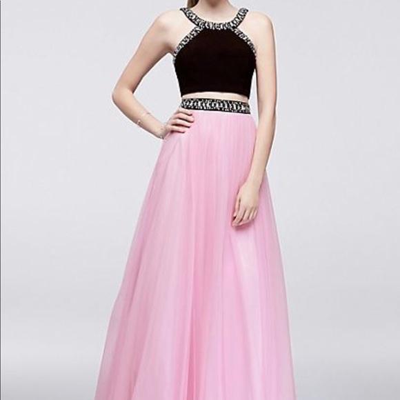 Blondie Nites Dresses | Two Piece Prom Dress Size 1 | Poshmark